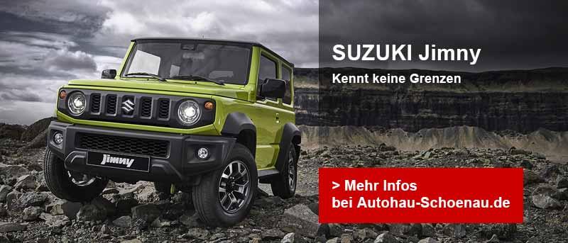 Autohaus Schoenau, Suzuki Jimny Teaser-Image