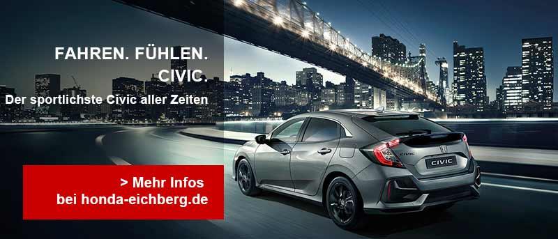 Autohaus Am Eichberg, Honda Civic Teaserimage