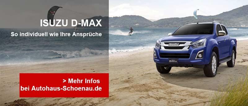 Autohaus Schoenau, ISUZU D-MAX Teaser-Image