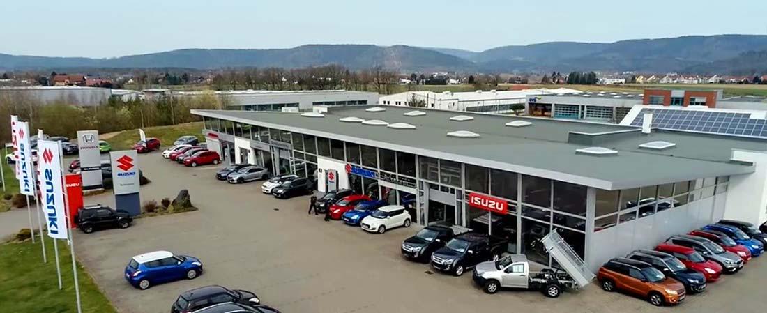 Autohaus Schoenau, Ansicht Standort Sonneberg